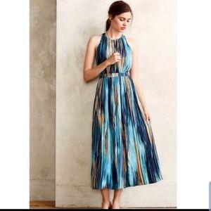 Anthropologie Paper Crown River Midi Dress 12